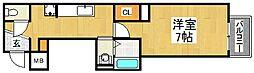 スタイルナイン[4階]の間取り