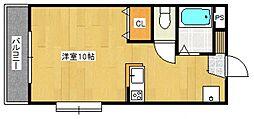 エスパシオ江頭I[1階]の間取り