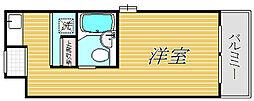 扶桑ハイツ経堂[2階]の間取り