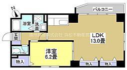 ソルトシティ浜松[7階]の間取り