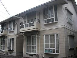 千葉県君津市北久保2丁目の賃貸アパートの外観