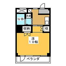境川マンション[3階]の間取り