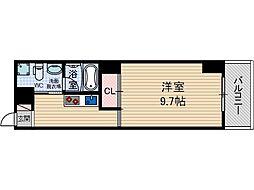 グランヴァレー彩都[4階]の間取り