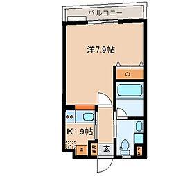 Ritz小阪[308号室]の間取り