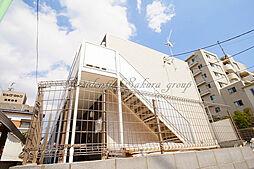 神奈川県藤沢市片瀬5の賃貸アパートの外観
