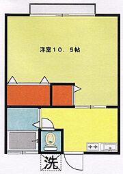 メゾンシノハラ[102号室]の間取り