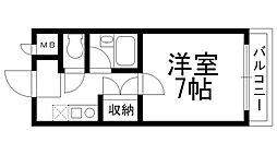 アメニティハウス[0203号室]の間取り