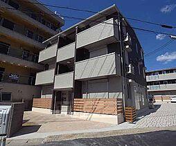 京都府京都市伏見区石田大受町の賃貸アパートの外観