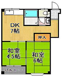 ファーストマンション[3階]の間取り