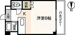 ラヴォール国泰寺[5階]の間取り