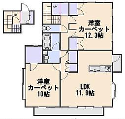 本多邸2階[2F号室]の間取り