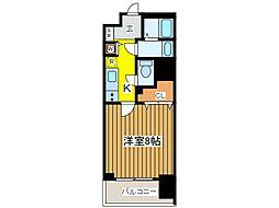 東京都府中市寿町2丁目の賃貸マンションの間取り