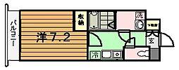 神興アルファビル[4階]の間取り