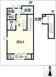シャローフィールドIII[2階]の間取り