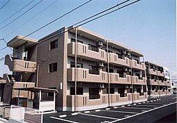 栃木県真岡市熊倉町の賃貸マンションの外観