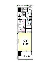 コンソラーレ本厚木[4階]の間取り