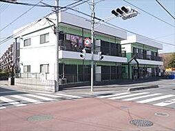 埼玉県草加市中根1の賃貸アパートの外観