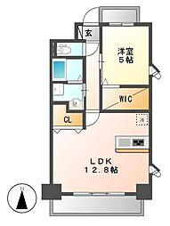 Laulea御器所[2階]の間取り