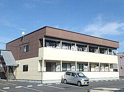 赤城ハイツC[1階]の外観