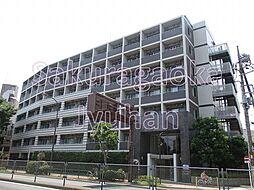 東京都目黒区南3丁目の賃貸マンションの外観