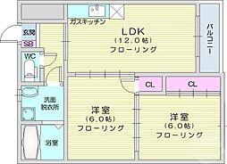 北四番丁駅 6.6万円