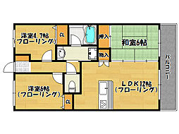 アプローズ南福岡駅[202号室]の間取り