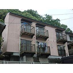 岡山県岡山市北区京山1丁目の賃貸アパートの外観