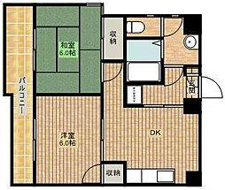 メゾン石塚II[2階]の間取り