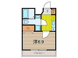 アクシーズタワー川口幸町[5階]の間取り
