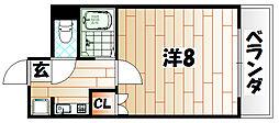 オグラ・M・シミズ[5階]の間取り