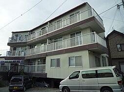 長野県諏訪市元町の賃貸マンションの外観