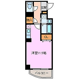 アット長田[907号室]の間取り