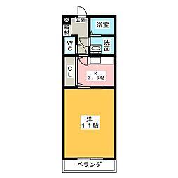 エコパルIII[5階]の間取り