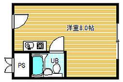 メガロコープ福島[9階]の間取り