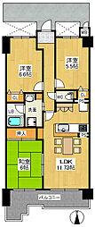 アメリア4号館[2階]の間取り