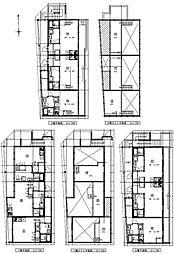 (仮称)港区新川町II 新築アパート[202号室号室]の間取り