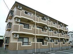 静岡県磐田市二之宮の賃貸マンションの外観