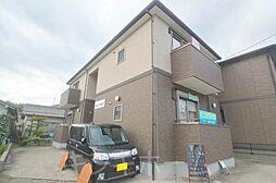 広島県広島市安芸区船越5丁目の賃貸アパートの外観