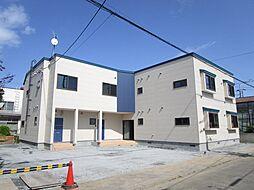 北海道札幌市東区北五十条東7の賃貸アパートの外観