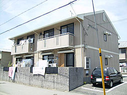 兵庫県姫路市勝原区大谷の賃貸マンションの外観