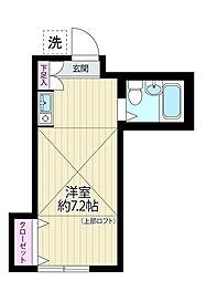 サテライトA・T[1階]の間取り
