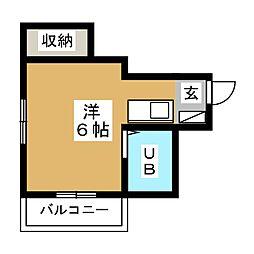 メゾンノース[2階]の間取り