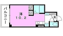 ベルビー一番町ビル[402 号室号室]の間取り