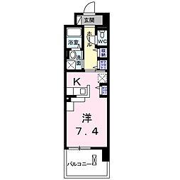埼玉県新座市栄4丁目の賃貸マンションの間取り