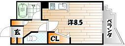 ウイングビル[4階]の間取り
