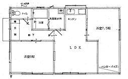 [一戸建] 茨城県鹿嶋市大字宮中 の賃貸【/】の間取り
