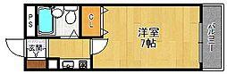パルビレッジ[3階]の間取り