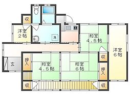JR山陽本線 西川原駅 3.7km 5Kの間取り