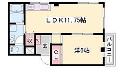 尾上の松駅 4.2万円