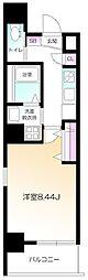 仮)南麻布2丁目プロジェクト 2階1Kの間取り